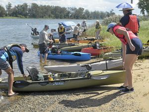 Paddlers head downriver for charity