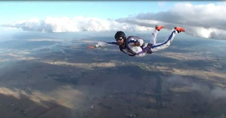 Have a go at sky diving at the edge of the Darling Downs.