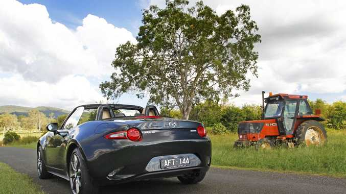 2016 Mazda MX-5 2.0-litre road trip in South East Queensland. Photo: Iain Curry / Sunshine Coast Daily