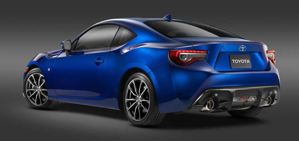 MY17 Toyota 86. Photo: Contributed
