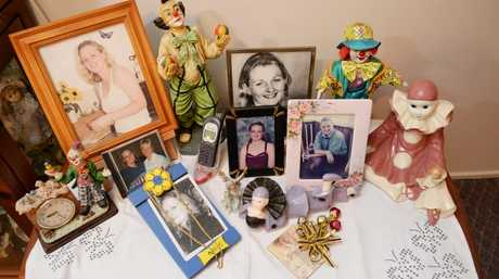 A mother's tribute to her murdered daughter Lara. Photo Allan Reinikka / The Morning Bulletin