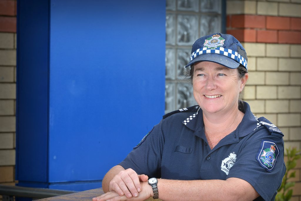 Senior Constable Odette Reid is the new Domestic violence liaison officer.. Photo Renee Albrecht/Gympie Times