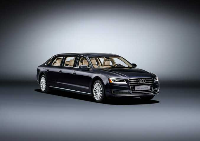 Audi A8 L Extended. Photo: Contributed