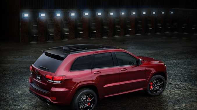 Jeep Grand Cherokee SRT Night. Photo: Contributed