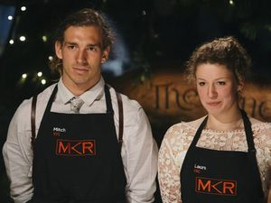 MKR favourites Mitch and Laura falter in finals