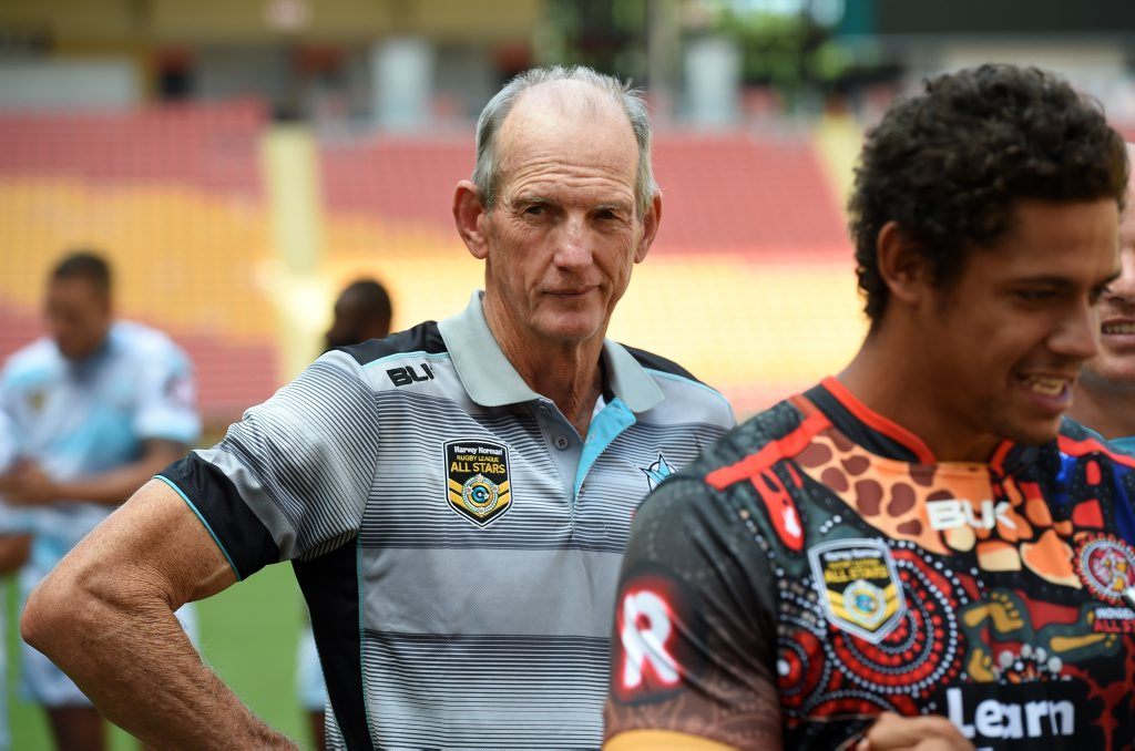 Wayne Bennett is not a fan moving the NRL Grand Final out of Sydney. Photo: AAP Image.