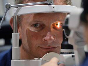 'Eye check saved my life'