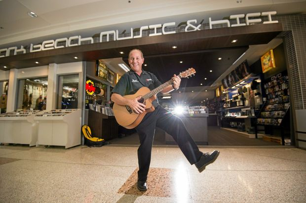 LAST CHANCE: Park Beach Music and Hi-Fi owner Kevin Budge will take a well-earned break when the store closes at the end of June but music lovers have until then to snap up bargains in the End of an Era closing sale.