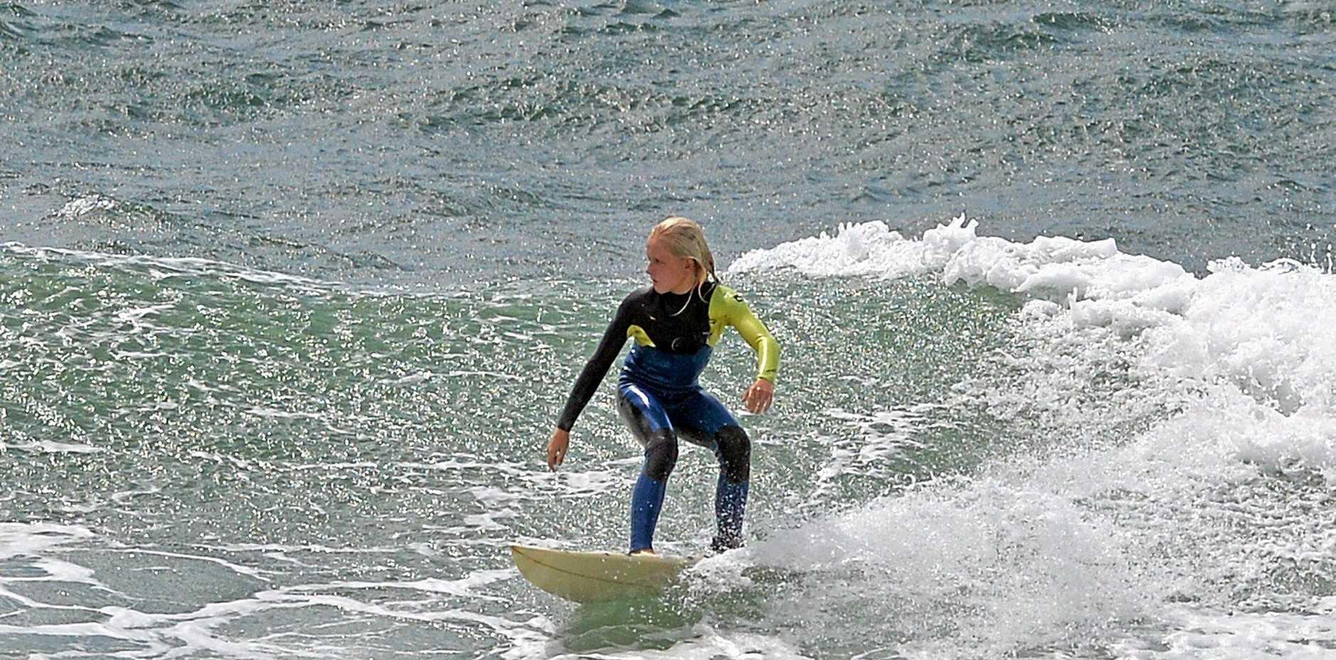 Wave of the day. Alexandra Headland.