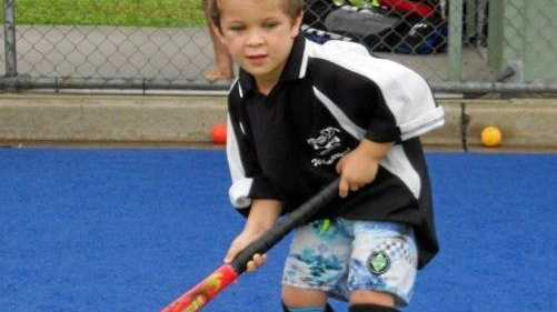 Even the smallest kids have potential to be a champion hockey player.