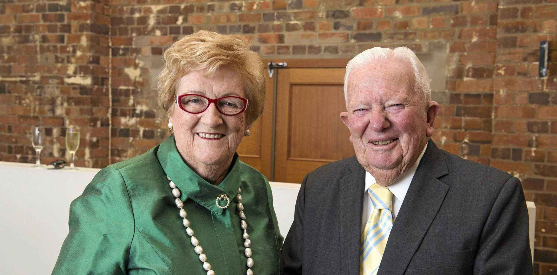 Toowoomba Chamber of Commerce Secrets of My Success series with Henry and Mary Wagner at Empire Theatres, Friday, April 15, 2016.