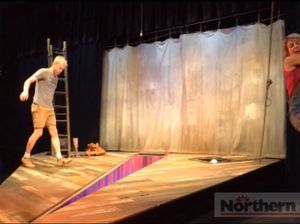 Watch these excerpts of a scene of this weekend's production at NORPA