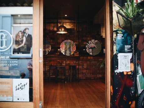 Ground Up Espresso Bar in the Toowoomba CBD.