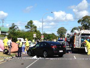 Fatal crash on Elizabeth St