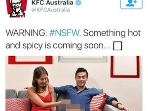 KFC fried for sexually suggestive Hot & Spicy Twitter ad