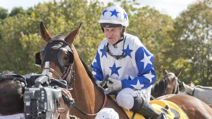 Jockey Jeff Lloyd was successful aboard Crack Me Up in today's Dalrello Two-Year-Old Plate at Clifford Park.