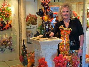 Town's art hub 'dying' says glass artist