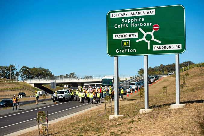 The promised cycleway from Sapphire to Woolgoolga appears to be one step closer.