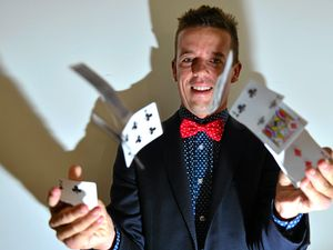 Andino is teaching students the art of magic
