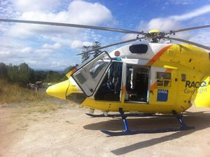 Motorcyclist airlifted after crash on Blackbutt range