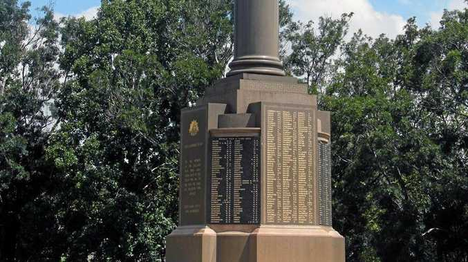 HISTORIC SITE: The Mother's Memorial was moved in 1985, to its present site in East Creek Park.