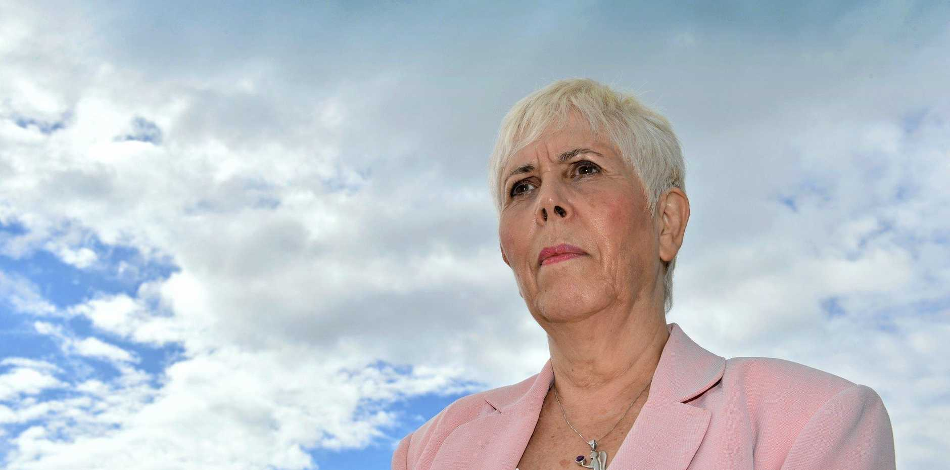 Mary Rodwell assists people who have had 'spiritual multi-dimensional experiences' with extra-terrestrials and space craft.  Photo: John McCutcheon / Sunshine Coast Daily