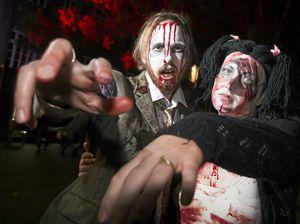 ZOMBIE ALERT! Walking dead take over Toowoomba