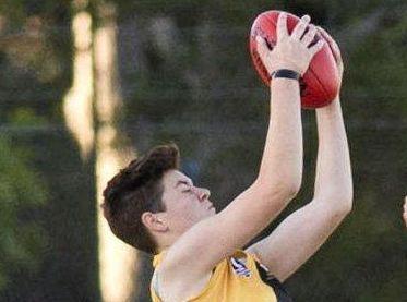 GOAL KICKER: Toowoomba Tigers player Jayde Struhs in action last season.