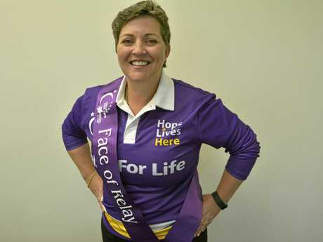 PROUD AS PUNCH: Danielle Bellchambers is the face of Toowoomba Relay for Life.