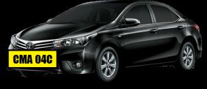Black Toyota Grande