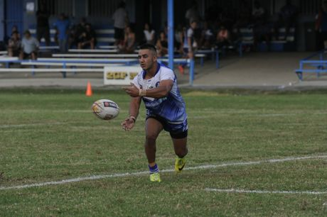 Ghost Jayden Connors during the Group 2 Rugby league match between the Grafton Ghosts and Orara Valley Axeman at McGuren Park on Saturday, 16th April, 2016. Photo Debrah Novak / The Daily Examiner