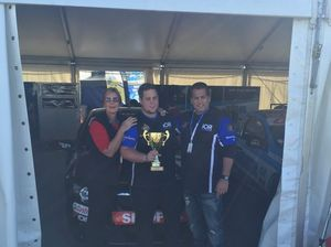Barbera wins first V8 Ute race