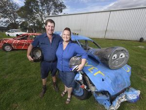 Thomas the Tank Engine demo derby driver last woman standing