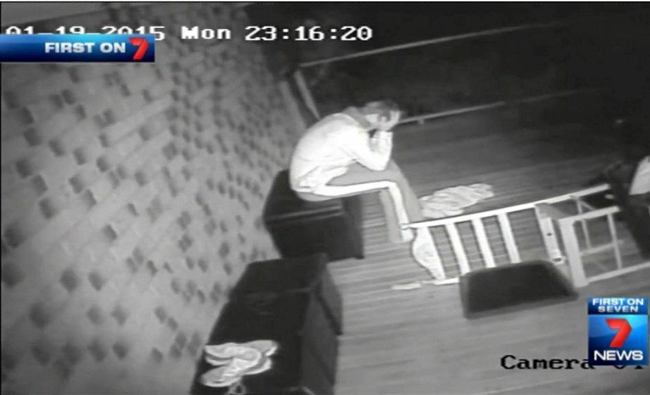 CCTV footage by Sonia Gates.