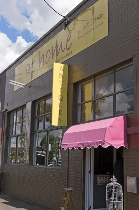 At Home in Toowoomba antique shop is moving from the Railway St site into the Dairy Farmers factory in Brook St.
