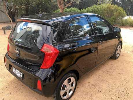 The new Kia Picanto.