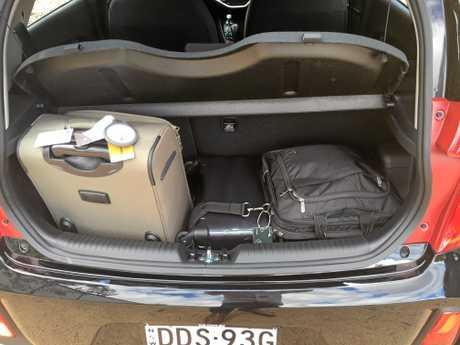 The 200-litre Kia Picanto boot.