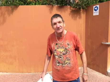 Lortar Herrmann, 64, said he's been smoking cannabis for 20 years.