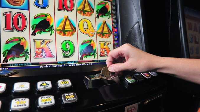 GAMBLING: Pokies. Photo: Max Fleet / NewsMail