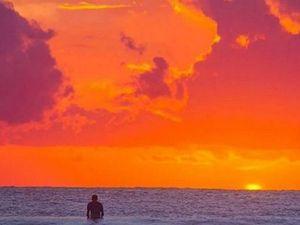 Spectacular Sunshine Coast sunrise