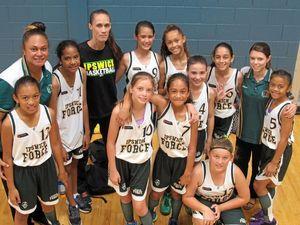 Force basketballers develop skills together