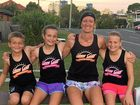 My children and I are part of a social running group called Sunny coast darkrunners that run usually from Bulcock beach to the Power boat club and back! However runs differ, and are usually early mornings or early evenings hence the group name. Brett N Kelly Raabe.