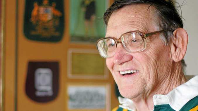 Former Ipswich rugby league legend Dud Beattie (Dudley Beattie) reflects on his time in the spotlight of Australian rugby league.