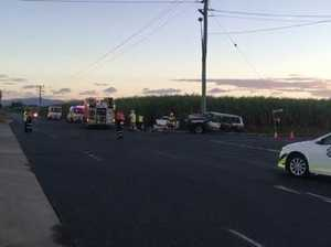 Crash at Stockroute Rd
