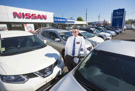 Principal of Clarence Coast Motors Geoff Wicks Photo Adam Hourigan / The Daily Examiner