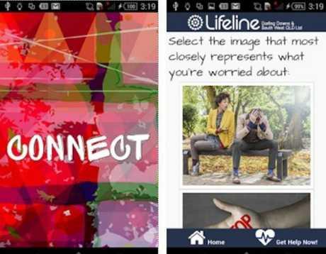 Lifeline Connect app screenshot.