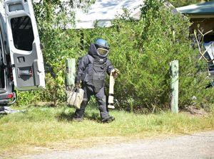 Bomb Squad detonate explosive found in Peregian