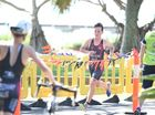 Queensland's Lochie Armstrong (Xavier College, Hervey Bay), winner of the Junior Male race. School Sport Australia 19 Years and Under Triathlon Championships in Hervey Bay. Photo Matthew McInerney / Fraser Coast Chronicle