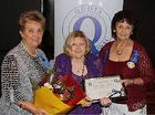 IN THE CLUB: Mary Bothams, Marie Farenden and Judy Dwyer at the Quota Changeover dinner recently.