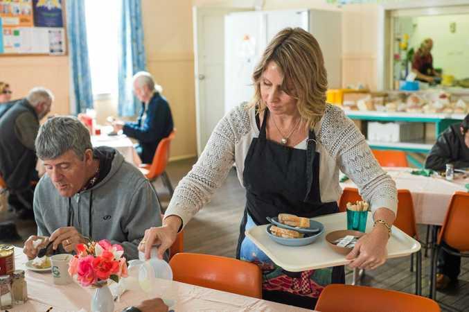 Coffs Harbour soup kitchen.